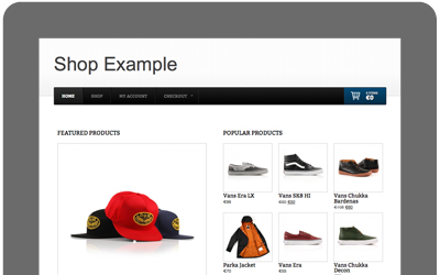 ecommerce website